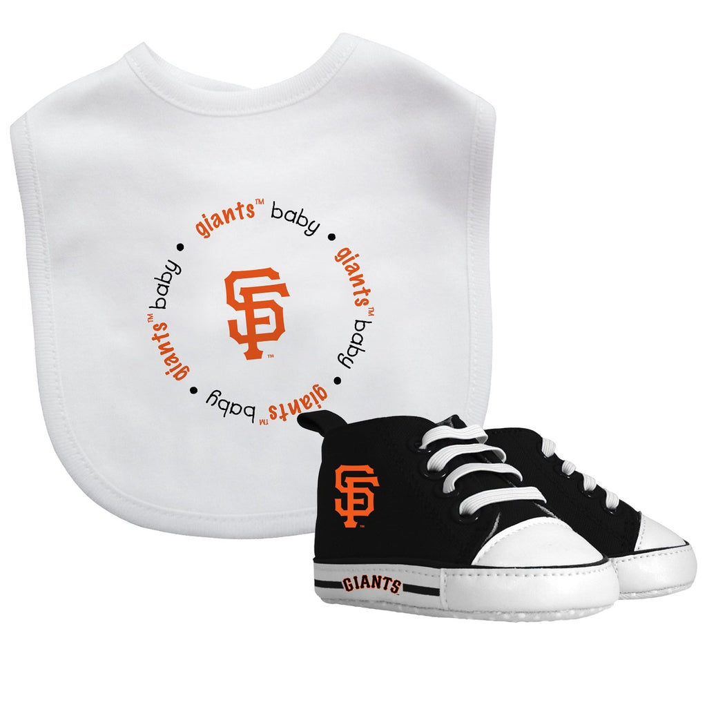 Bib & Prewalker Gift Set - San Francisco Giants-justbabywear