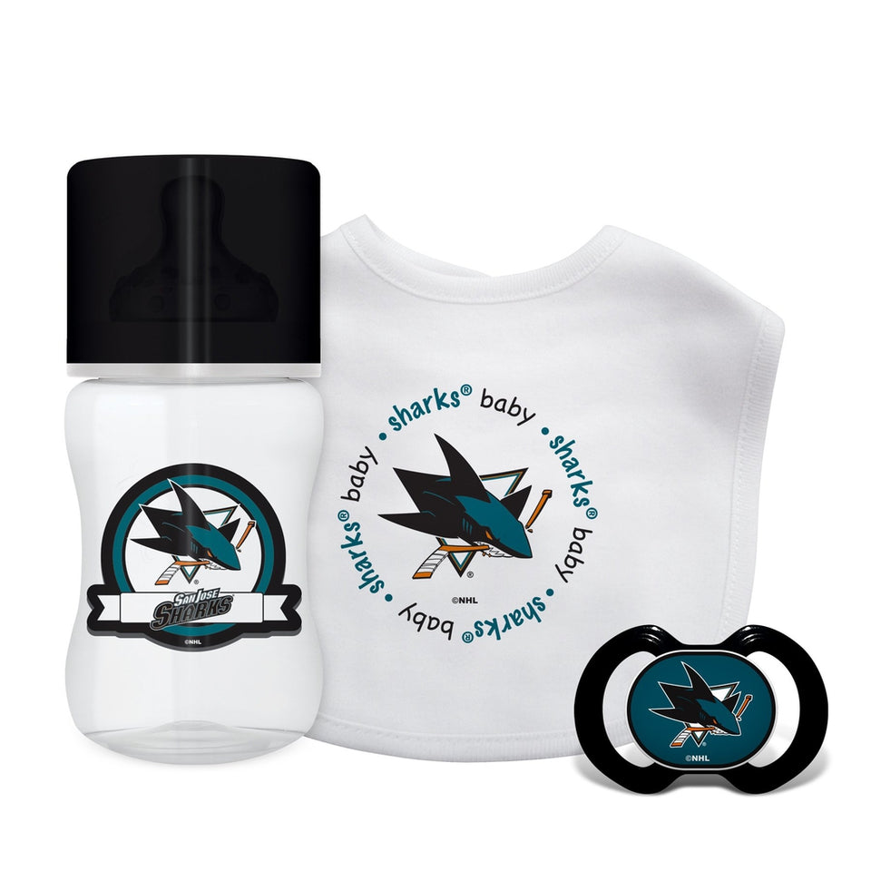 3-Piece Gift Set - San Jose Sharks-justbabywear