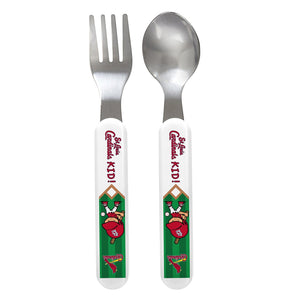 Fork & Spoon Set - St. Louis Cardinals-justbabywear