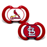 Gen. 3000 Pacifier 2-Pack - St. Louis Cardinals-justbabywear