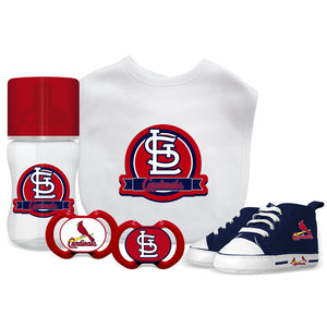 5 Piece Gift Set - St. Louis Cardinals-justbabywear