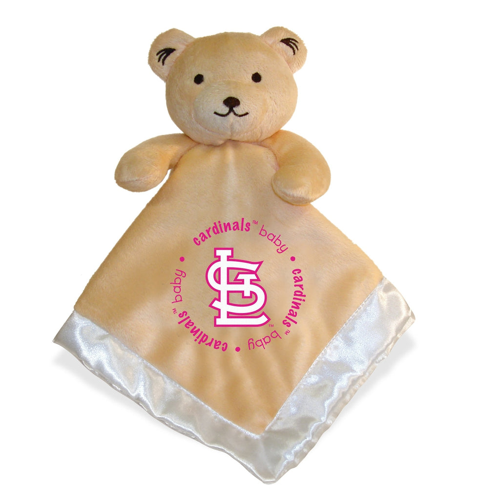 Security Bear - Pink Logo - St. Louis Cardinals-justbabywear