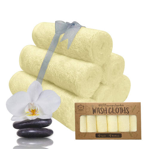Sunshine Organic Bamboo Wash Cloth