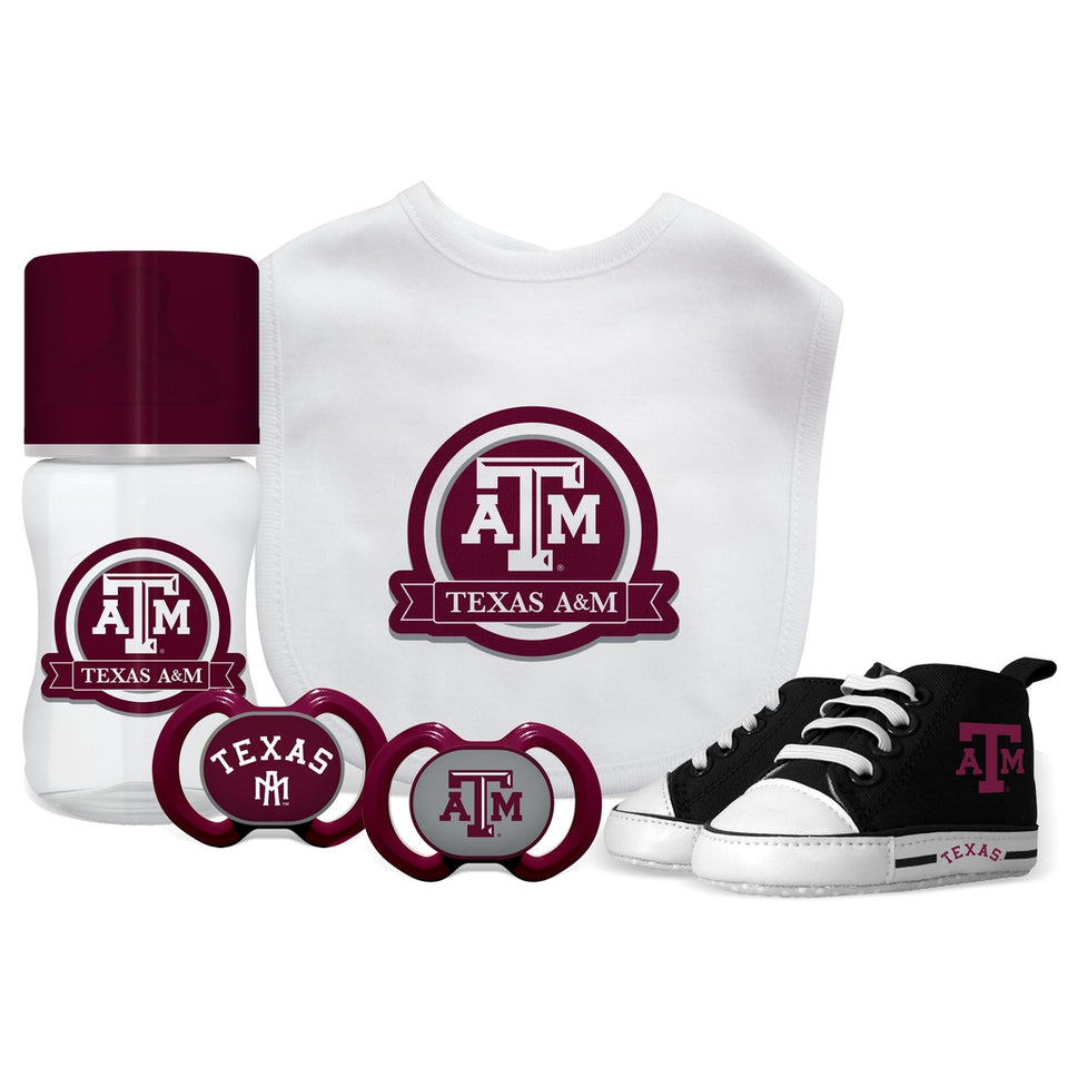 5 Piece Gift Set - Texas A&M-justbabywear