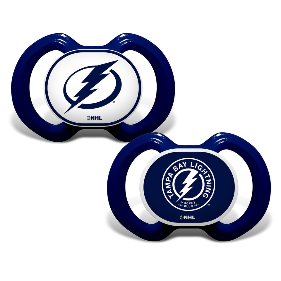 Gen. 3000 Pacifier 2-Pack - Tampa Bay Lightning-justbabywear