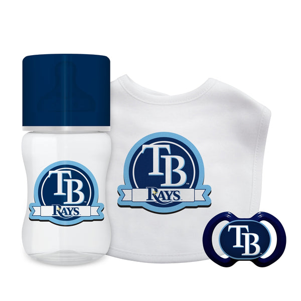 3-Piece Gift Set - Tampa Bay Rays-justbabywear