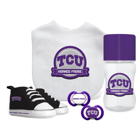5 Piece Gift Set - Texas Christian University-justbabywear