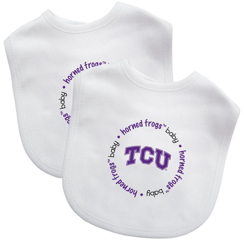 Bibs (2 Pack) - Texas Christian University-justbabywear