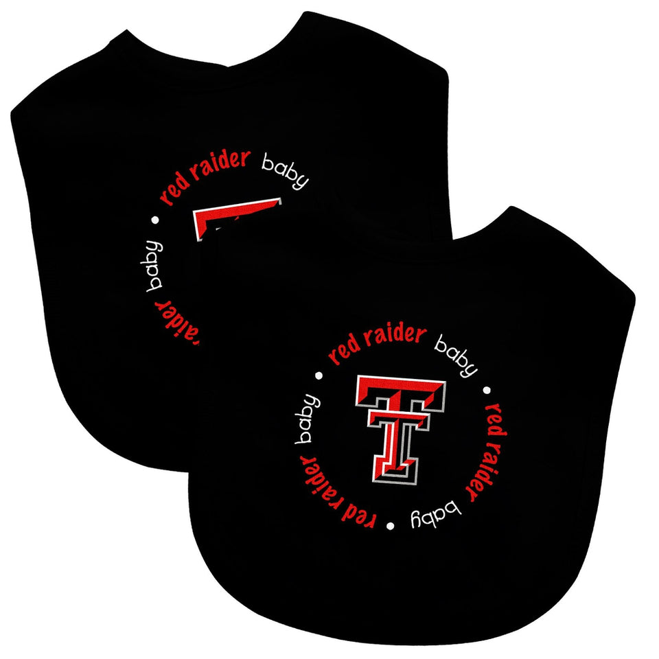 Bibs (2 Pack) - Texas Tech University-justbabywear