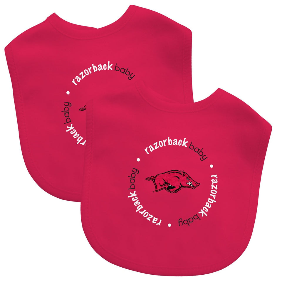 Bibs (2 Pack) - Arkansas, University of-justbabywear