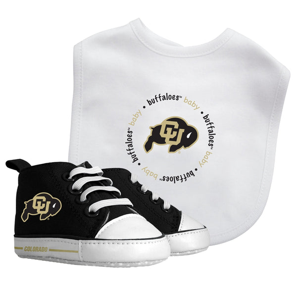 Bib & Prewalker Gift Set - Colorado, University of-justbabywear