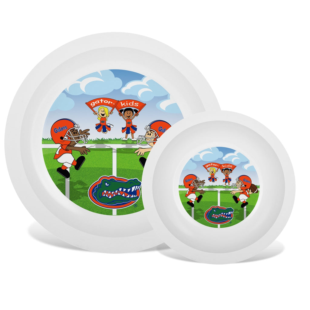 Plate & Bowl Set - Florida, University of-justbabywear