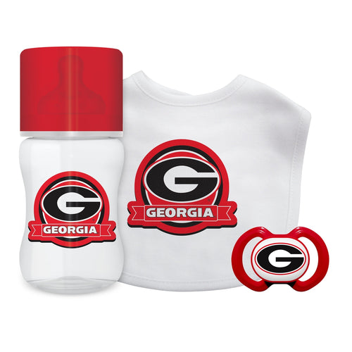 3-Piece Gift Set - Georgia, University of-justbabywear