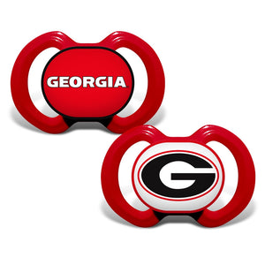 Gen. 3000 Pacifier 2-Pack - Georgia, University of-justbabywear