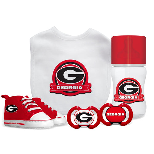 5 Piece Gift Set - Georgia, University of-justbabywear