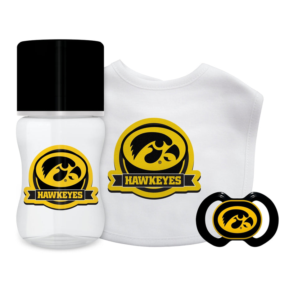 3-Piece Gift Set - Iowa, University of-justbabywear