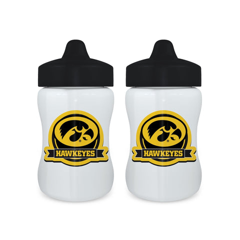 Sippy Cup (2 Pack) - Iowa, University of-justbabywear