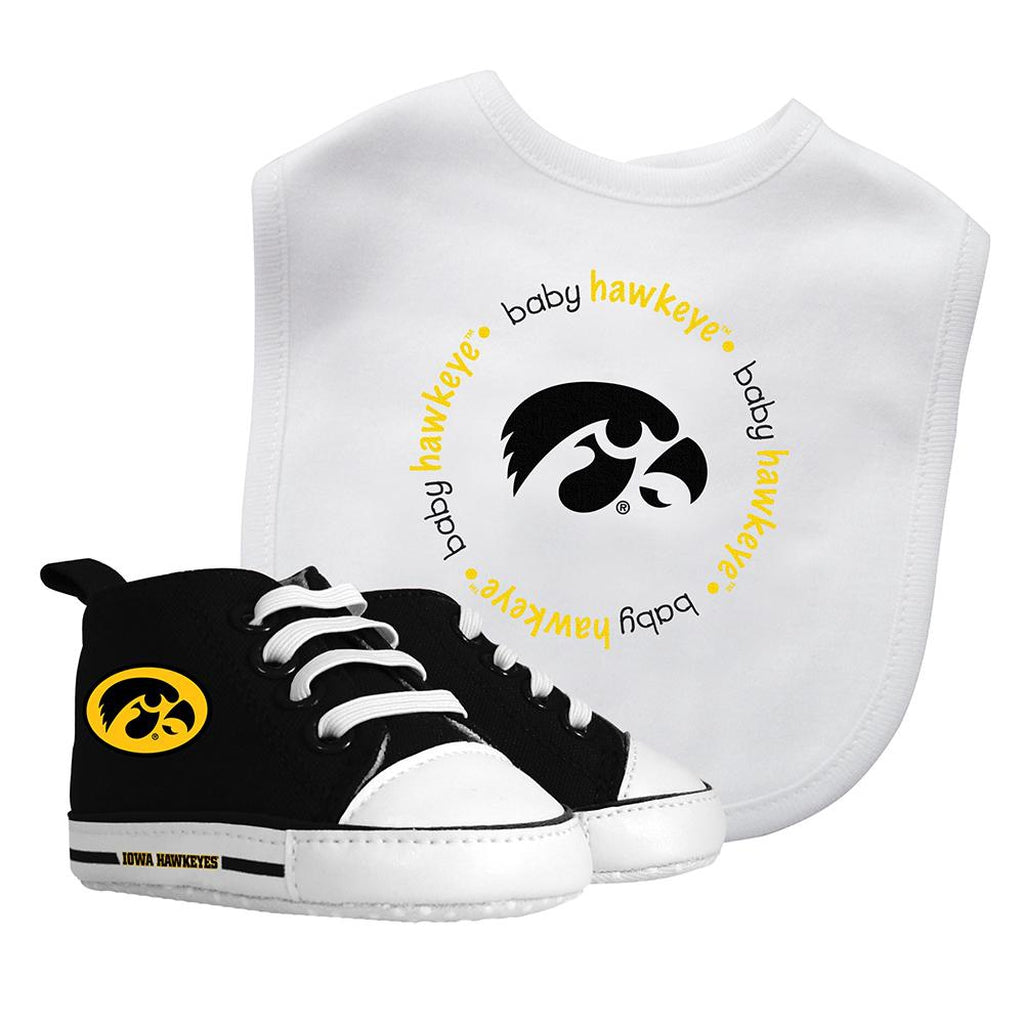 Bib & Prewalker Gift Set - Iowa, University of-justbabywear