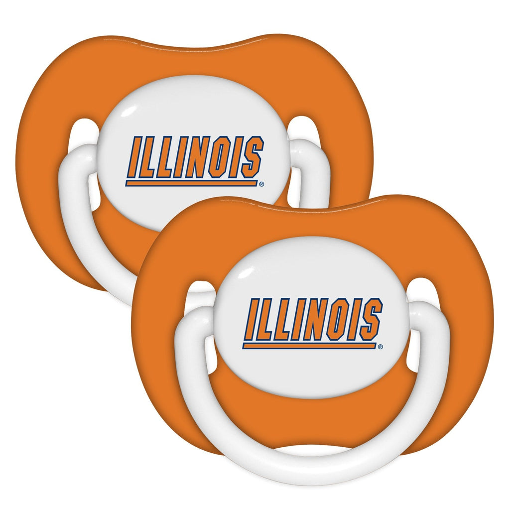 Pacifier (2 Pack) - Illinois, University of-justbabywear