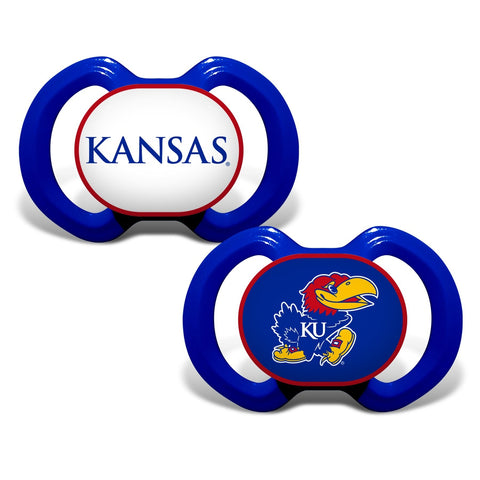 Gen. 3000 Pacifier 2-Pack - Kansas, University of-justbabywear