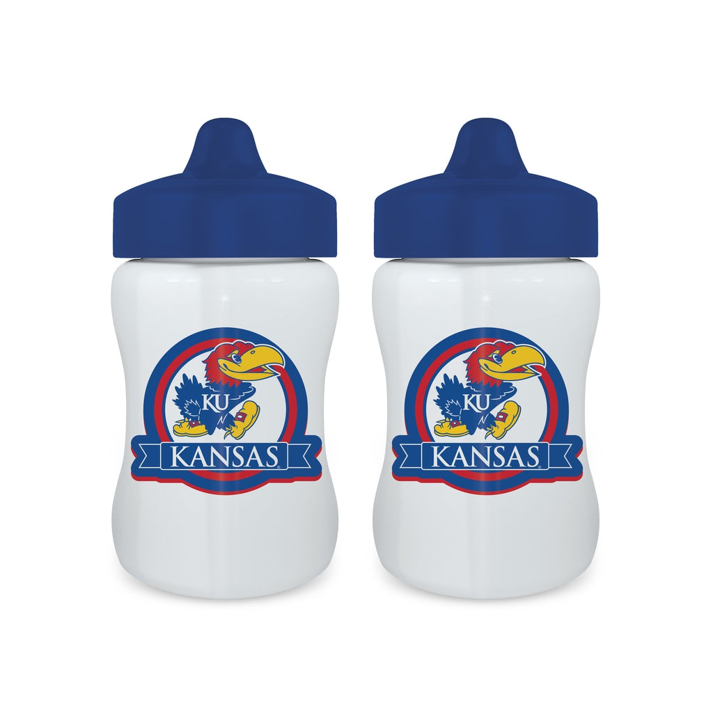 Sippy Cup (2 Pack) - Kansas, University of-justbabywear