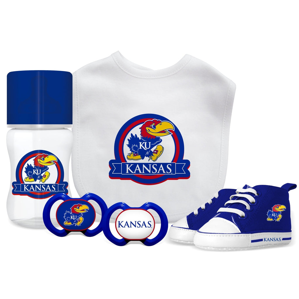 5 Piece Gift Set - Kansas, University of-justbabywear
