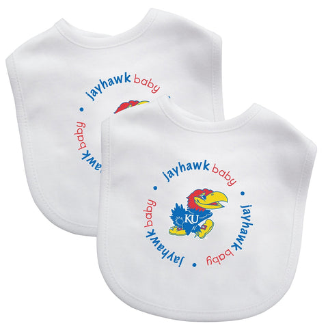 Bibs (2 Pack) - Kansas, University of-justbabywear
