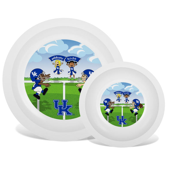 Plate & Bowl Set - Kentucky, University of-justbabywear