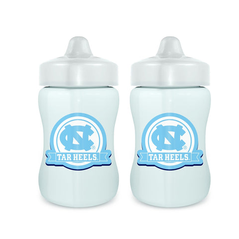 Sippy Cup (2 Pack) - North Carolina, University of-justbabywear