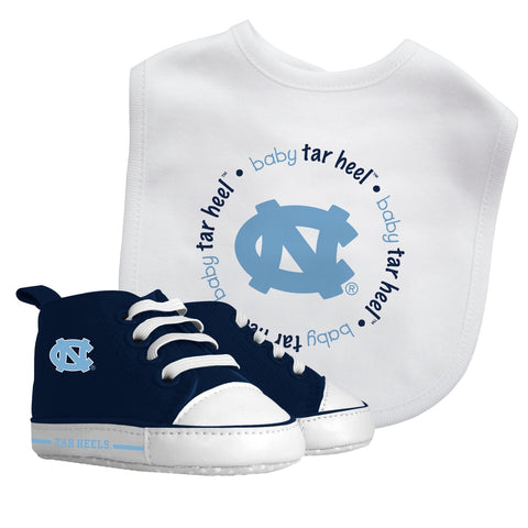 Bib & Prewalker Gift Set - North Carolina, University of-justbabywear