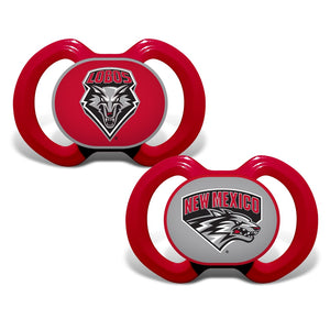 Gen. 3000 Pacifier 2-Pack - New Mexico, University of-justbabywear