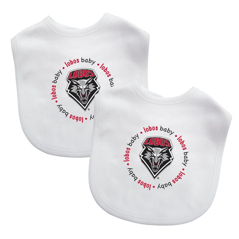 Bibs (2 Pack) - New Mexico, University of-justbabywear