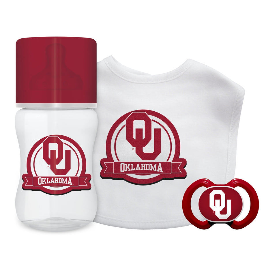 3-Piece Gift Set - Oklahoma, University of-justbabywear