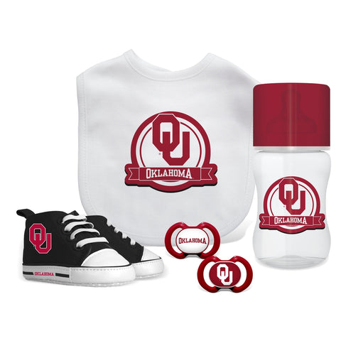 5 Piece Gift Set - Oklahoma, University of-justbabywear