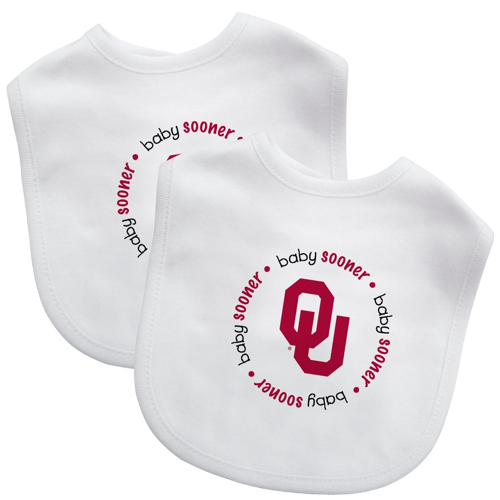 Bibs (2 Pack) - Oklahoma, University of-justbabywear