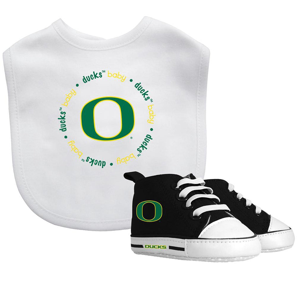 Bib & Prewalker Gift Set - Oregon, University of-justbabywear
