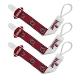 Pacifier Clip (3 Pack) - South Carolina, University of-justbabywear
