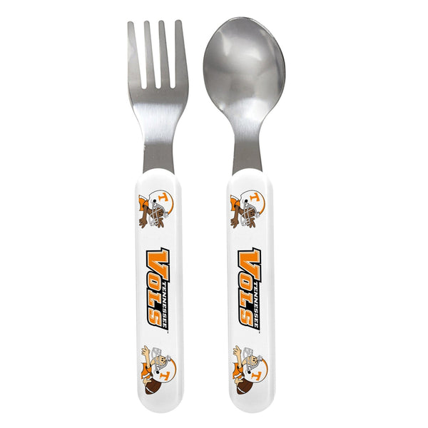 Fork & Spoon Set - Tennessee, University of-justbabywear