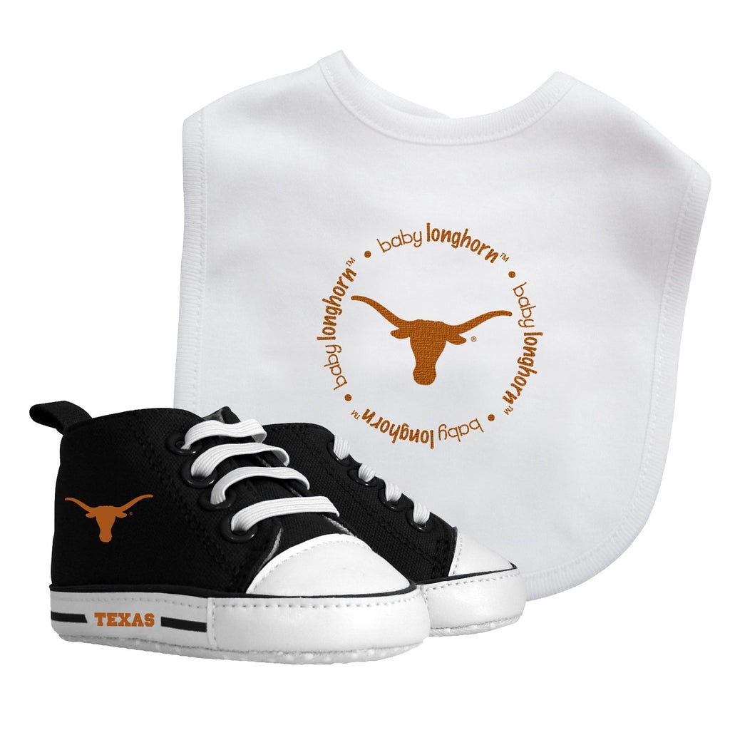 Bib & Prewalker Gift Set - Texas, University of-justbabywear