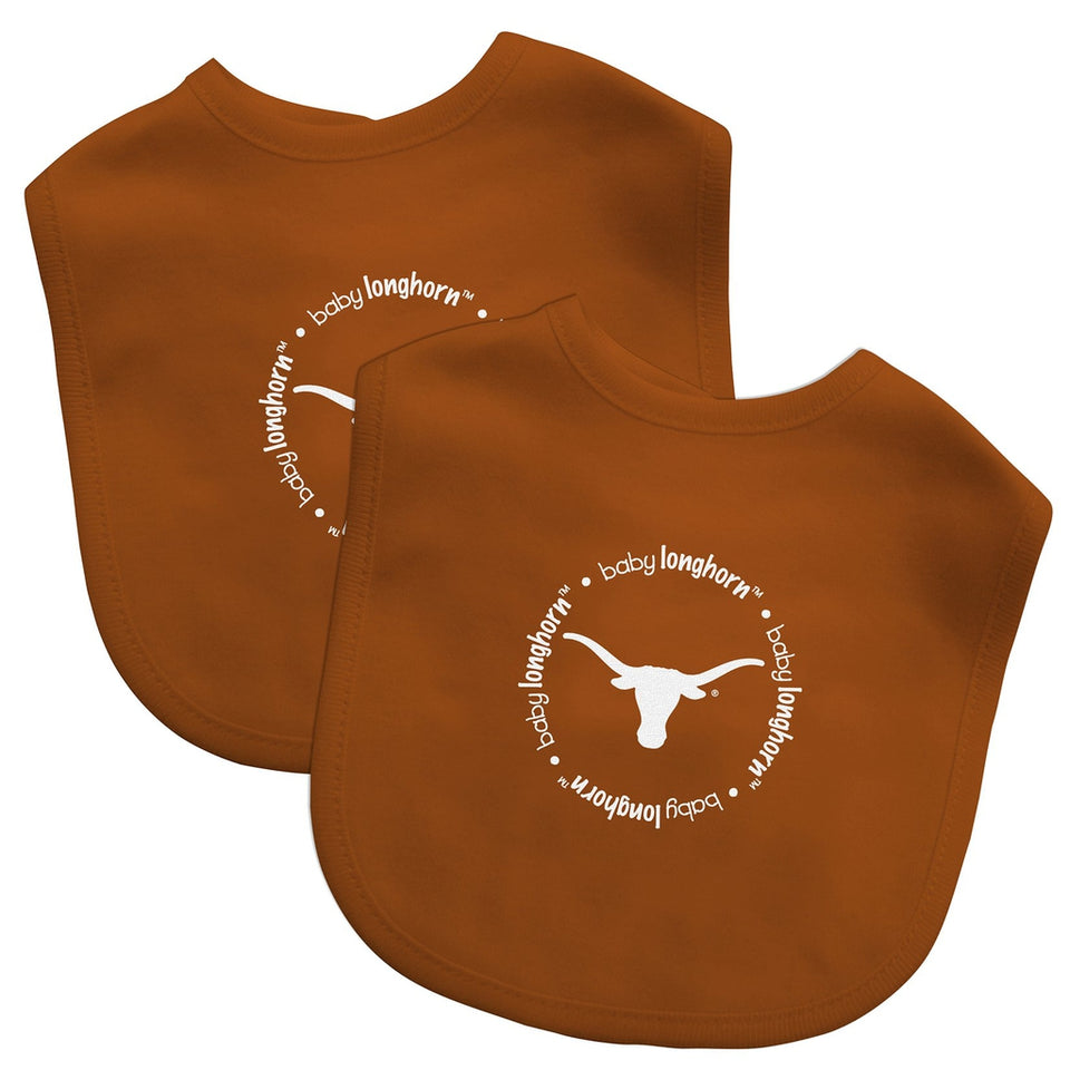 Bibs (2 Pack) - Texas, University of-justbabywear