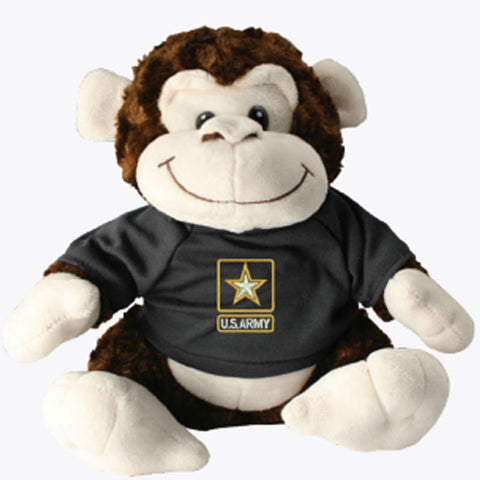 US Army Stuffed Plush Toy Monkey