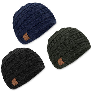 Urban Baby Knitted Beanie 3-Pack