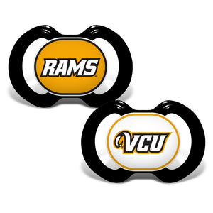 Gen. 3000 Pacifier 2-Pack - Virginia Commonwealth University-justbabywear