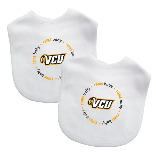 Bibs (2 Pack) - Virginia Commonwealth University-justbabywear