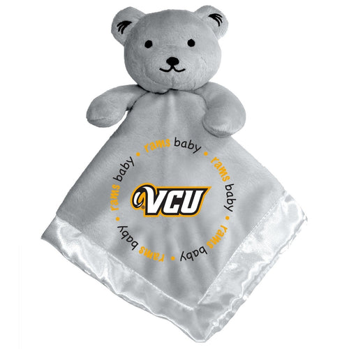 Gray Security Bear - Virginia Commonwealth University-justbabywear