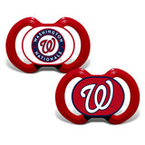 Gen. 3000 Pacifier 2-Pack - Washington Nationals-justbabywear