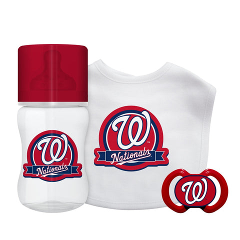 3-Piece Gift Set - Washington Nationals-justbabywear