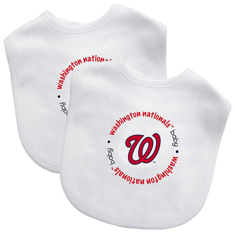 Bibs (2 Pack) - Washington Nationals-justbabywear