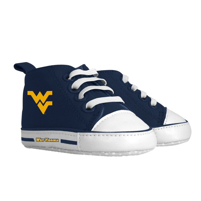 Pre-walker Hightop (1 Size fits Most) (Hanger) - West Virginia University-justbabywear