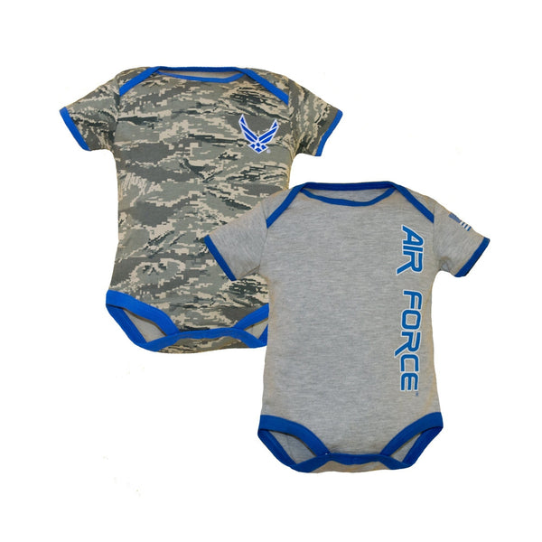 Air Force Baby 2pk Bodysuits-justbabywear